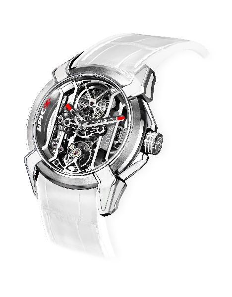 Jacob & Co. Magnificent Timepieces & Jewels: Epic X White Racing Watch