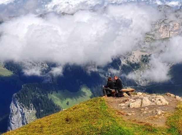 The Männlichen Mountain - Swiss Alps