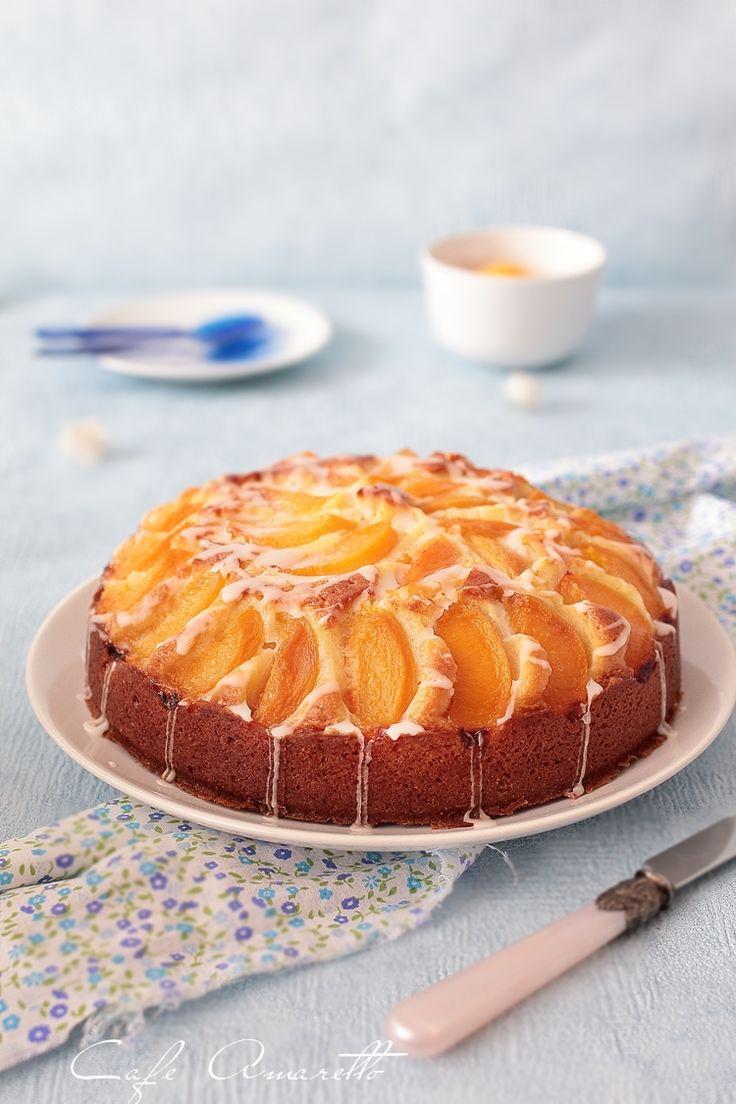 Ciasto kubeczkowe z brzoskwiniami @cafeamaretto