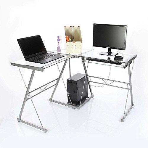 VECELO L-Shape Corner Computer Desk - Transparent VECELO https://www.amazon.co.uk/dp/B01G8NTX6O/ref=cm_sw_r_pi_dp_x_qBNkzb234SFEJ