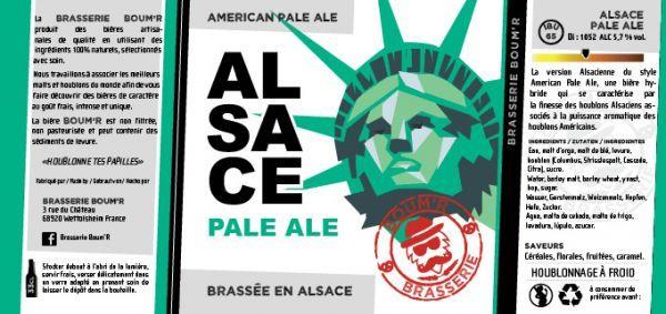 La version Alsacienne du style American Pale Ale, une bière hybride qui se caractérise par la finesse des houblons Alsaciens associés à la puissance aromatique des houblons Américains.