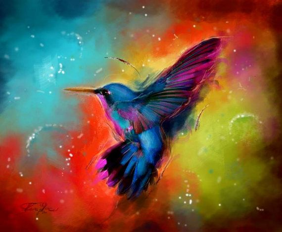 1000+ images about Art - Hummingbirds on Pinterest ...