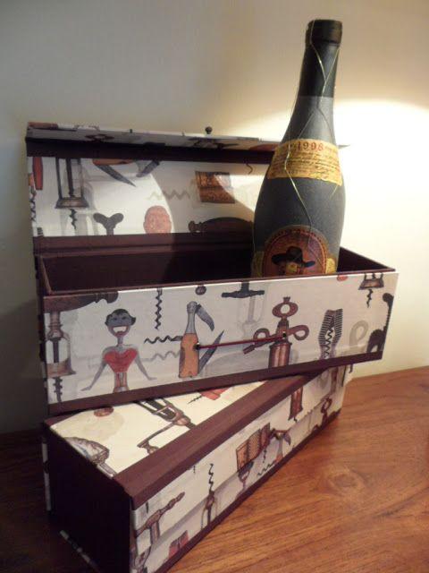 Cajas para regalar vino