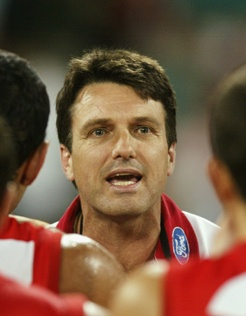 30 Defining Moments in Sydney:    #17 Paul Roos appointed as senior coach, 2002   Following the outpouring of support for Roos, there was little doubt he would get the role full-time, and on September 14, 2002, the club announced the appointment of Paul Roos as the Sydney Swans senior coach.  Read more: http://bit.ly/Kdbp7O