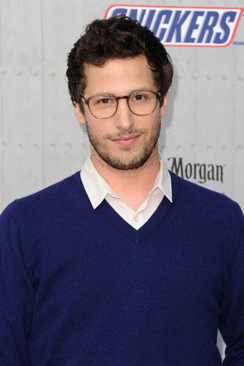 Andy Samberg thinks your little snoring noises are really adorable. | 23 Pictures That Prove Glasses Make Guys Look Obscenely Hot