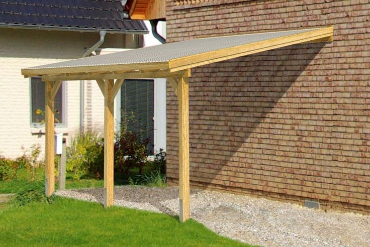 Do It Yourself Home Design: Wooden Lean To Pergola Kits