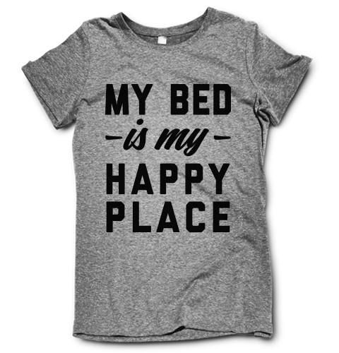 My bed is my happy place!