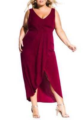 City Chic Plus Size Cherish Maxi Dress