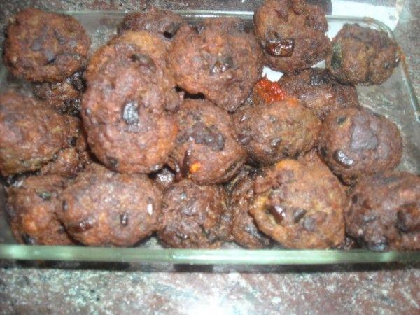 Polpette ai funghi ricetta e video ricetta delle polpette con funghi porcini chiodini secondo piatto raffinato ingredienti dosi cottura preparazione calorie