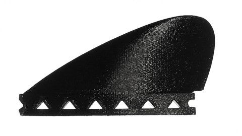 BEAUtiful BLAck BONZER fin. GEt one today!