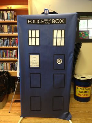 Nerd Craft Librarian: Doctor Who - Library Life