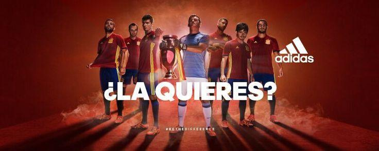 Así es la nueva equipación de la Selección para la Eurocopa de Francia 2016 | SEFutbol