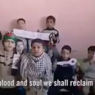This is actual footage of Palestinian children. Is it any wonder there isn't peace?  Video via: Israel Defense Forces