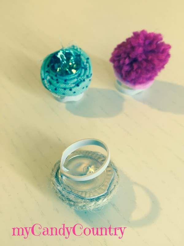 Creare anelli fai da te riciclando linguette del tetrapak. Idea creativa per regalarsi un piccolo bijoux a costo zero.  #mycandycountry #ideacreativa #anelli #faidate #riciclo #tetrapak #diycrafts    Seguimi su: www.mycandycountry.it