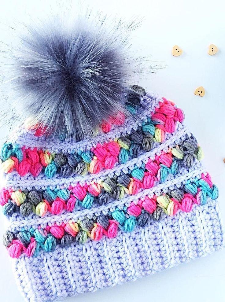 46 padrões de crochê Boné livre para iniciantes, beleza e estilo Parte 21