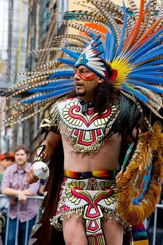 F F B A B Ce Royal Hunt Inca on Aztec Dance Headdress
