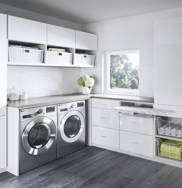 die besten 25 hauswirtschaftsraum ideen auf pinterest w schekorb aufbewahrung zwetschgen und. Black Bedroom Furniture Sets. Home Design Ideas