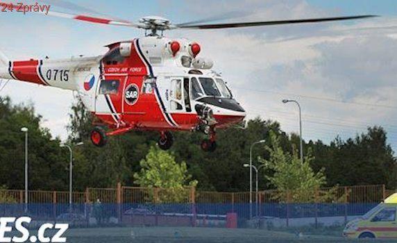 Batole se opařilo kávou, vrtulník jej přepravil na popáleninové centrum