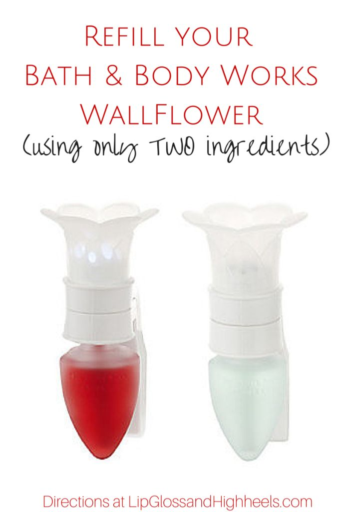 If you're like me, you're obsessed with the wallflowers from Bath and Body Works. I have at least one in each room. While my house smells amazing no matter where you go, one problem arises when they wallflower dries up – I have to buy new ones! Considering I have over 15 in my home... Read More »