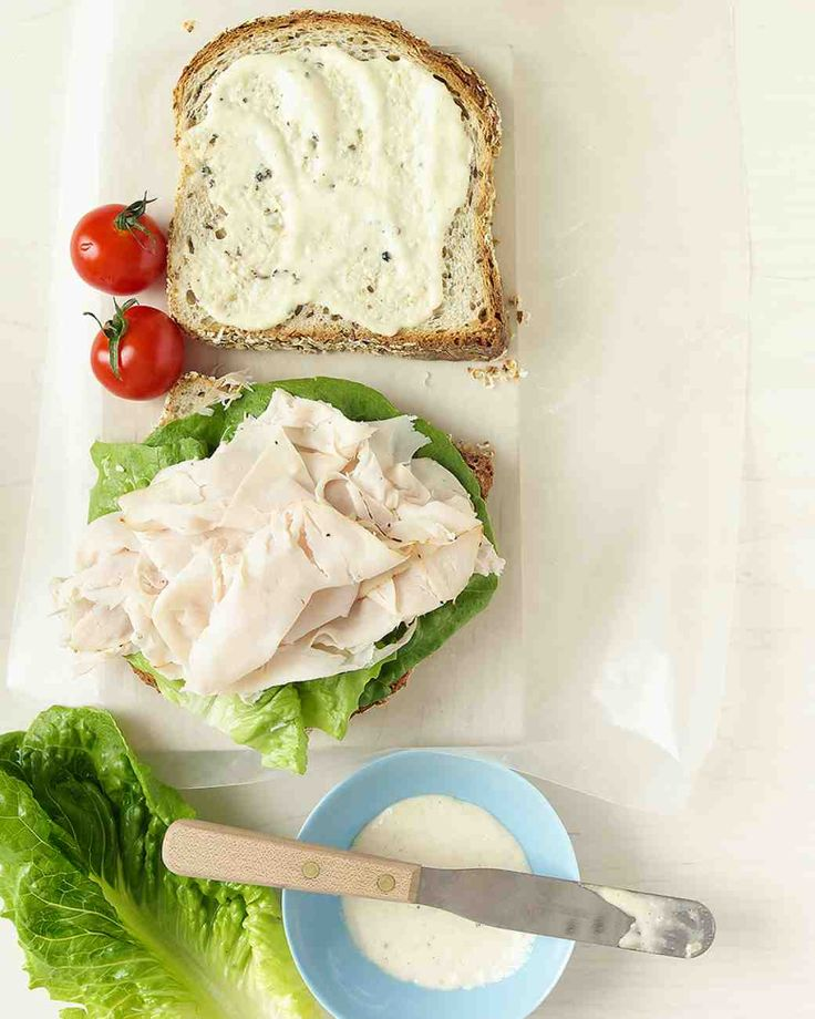 Turkey Caesar Sandwich Recipe