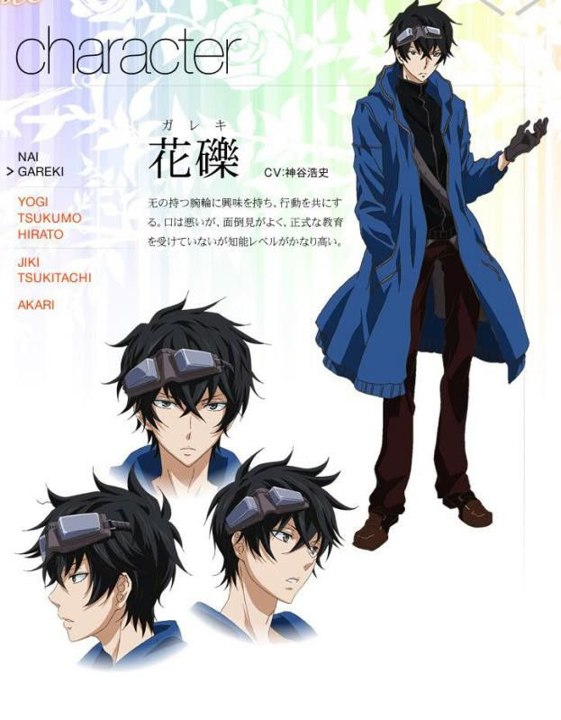 The Anime Character Gareki Is A Teen With To Neck Length Black Hair And Gray Eyes