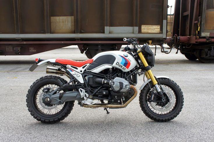 NineT Paris Dakar Luis Moto