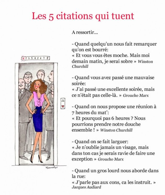 citations qui tuent