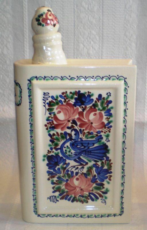 25x14 cm brandy bottle in Hungarian style. From Hódmezővásárhely, Hungary.