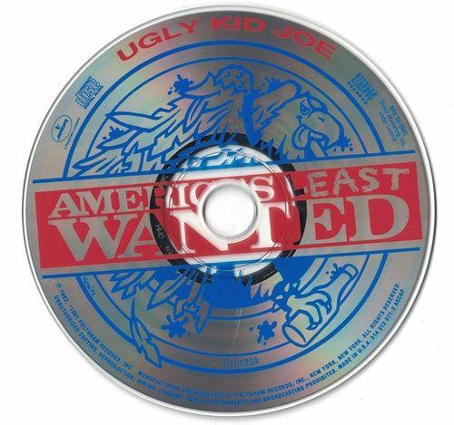 Ugly Kid Joe America's Least Wanted 1992 CD Professionally Cleaned