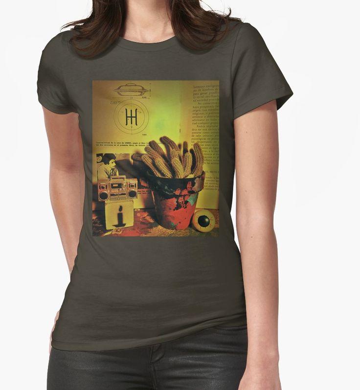 Camisetas entalladas para mujer «Cactus life nro. 3» de kreaton | Redbubble