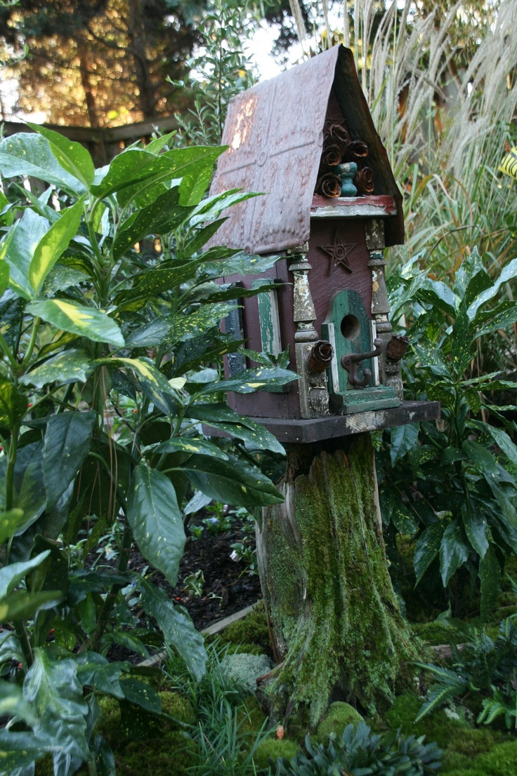 17 Best Images About Bird Houses And Gardens On Pinterest