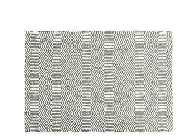 Ryker Rug 160 x 230cm, Grey and White | made.com