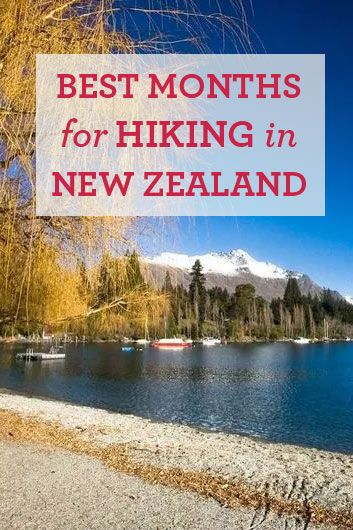 What are the best months for hiking in New Zealand? Here's a guide to New Zealand weather patterns and seasons to help you choose the best time to visit.