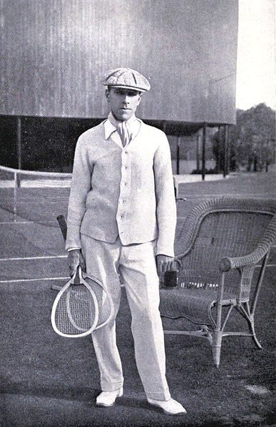 Sir Norman Everard Brookes (1877 – 1968) was an Australian World No. 1 tennis champion and president of the Lawn Tennis Association of Australia. Brookes was born in Melbourne, to a father, William Brookes, who had become rich from gold mining in the Bendigo area. He won the Wimbledon Grand Slam Singles  W (1907, 1914). He was inducted into the International Tennis Hall of Fame in 1977.