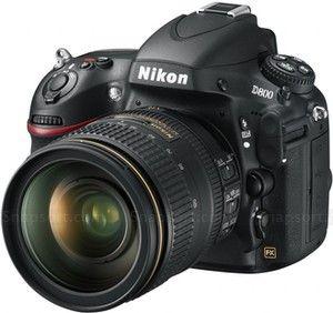 angle photo of the Nikon D800 36mp