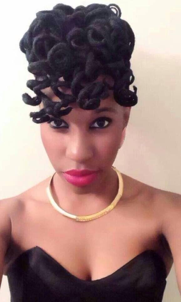 66 best Female loc styles images on Pinterest