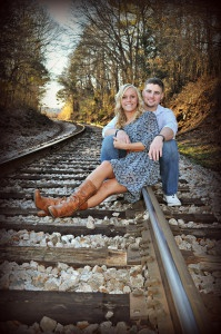 Couples by ADJ Photography this picture would be such a cool wedding invitation i love every detail of this picture