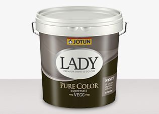 LADY Pure Color Veggmaling | Jotun.no
