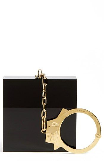 Charlotte Olympia 'Handcuff' Clutch available at #Nordstrom