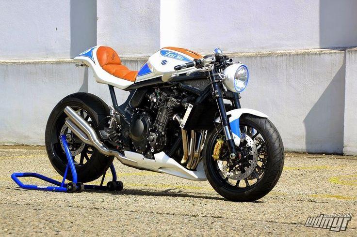 """Suzuki GSF 1250 Bandit """"Fat Mile"""" by Daniel Händler & A.Muth - Moto Revue"""