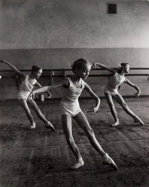 the ballet.