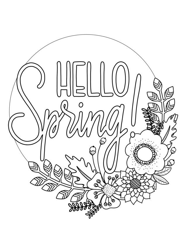 27 Elegant Image Of Coloring Pages Spring Albanysinsanity Com Spring Coloring Sheets Spring Coloring Pages Easter Coloring Pages