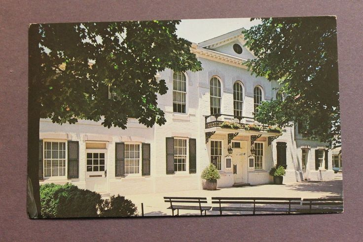 Postcard QUEEN ANNES COUNTY COURT HOUSE, CENTREVILLE, MARYLAND