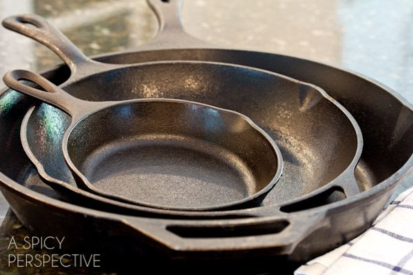 Learn How to Clean a Cast Iron Skillet, the easy way. And maybe a little lesson on how to season a cast iron skillet as well! I get a lot of questions about cooking with and cleaning cast iron. Maybe it's because I live in the Carolinas. I will say, my cast iron skillets do …