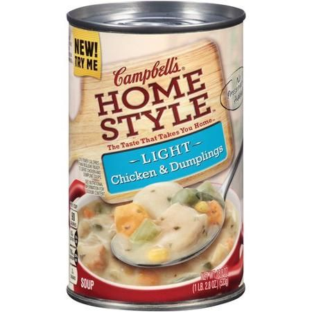 Campbell's Tuscan-Style Chicken Noodle Condensed Soup combines the comforting familiarity of chicken noodle soup with authentic Italian-inspired ingredients like onions, rosemary and beans. Description from guide.alibaba.com. I searched for this on bing.com/images