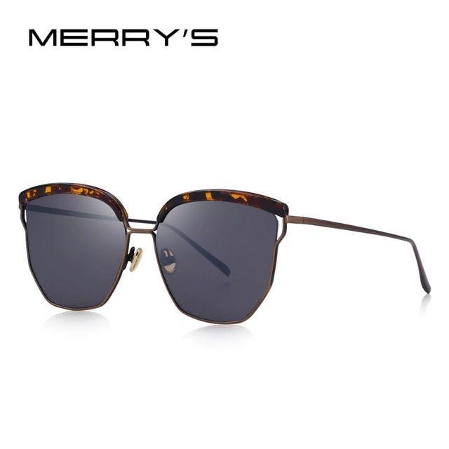 Heißer trend mode frauen klassische cat eye sonnenbrille 100% uv schutz   – Wom…