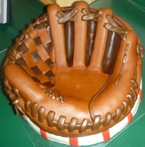 Parkside Cakery - yes, that's a cake that looks like a baseball glove