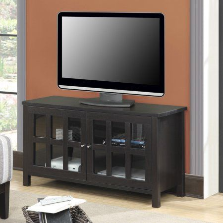 Convenience Concepts Designs2Go Newport Bently TV Stand for TVs up to 46 inch, Brown