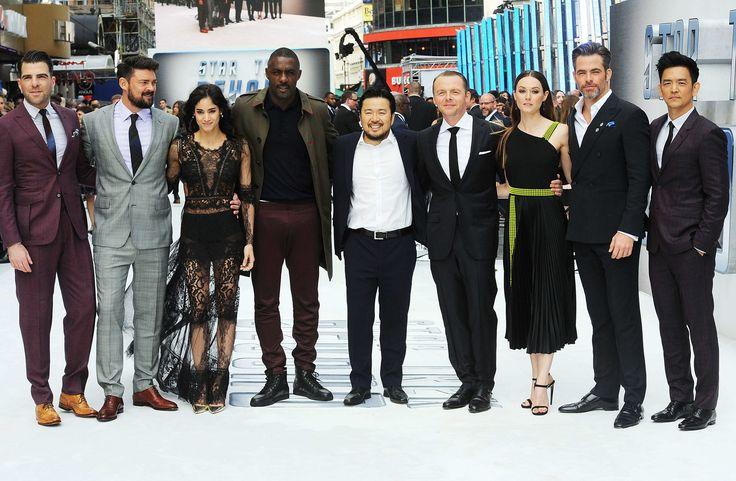 Zachary Quinto, Karl Urban, Sofia Boutella, Idris Elba, Justin Lin, Simon Pegg, Lydia Wilson, Chris Pine, John Cho