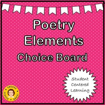 This Choice Board is meant to be used when practicing figurative language and sound elements. There is a board of 9 activities. Activities will require students to be familiar with Similes, Metaphors, Personification, Hyperboles, Idioms, Alliteration, Rhymes, Repetition, and Onomatopoeias.